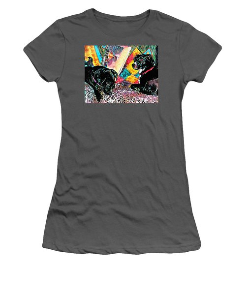 Keeping Themselves Occupied Women's T-Shirt (Athletic Fit)