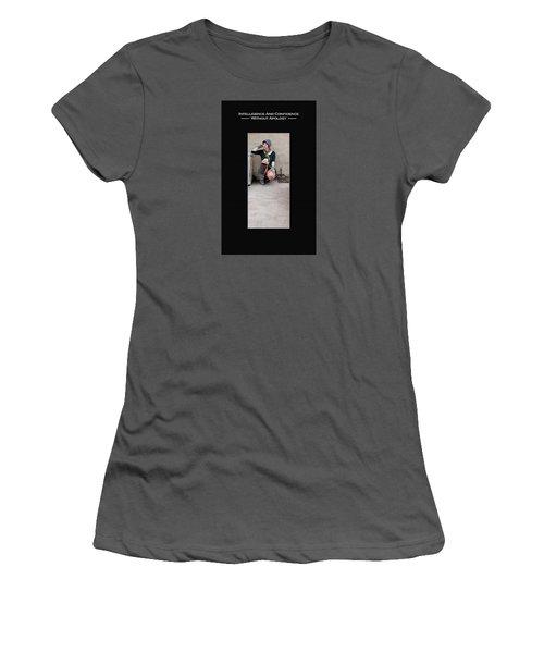 Kellie Peach 3-52 Women's T-Shirt (Junior Cut) by David Miller