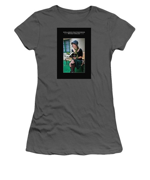 Kellie Peach 5-69 Women's T-Shirt (Junior Cut) by David Miller