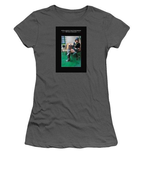 Kellie Peach 6-73 Women's T-Shirt (Junior Cut) by David Miller