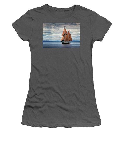 Ketch Angelique Women's T-Shirt (Athletic Fit)