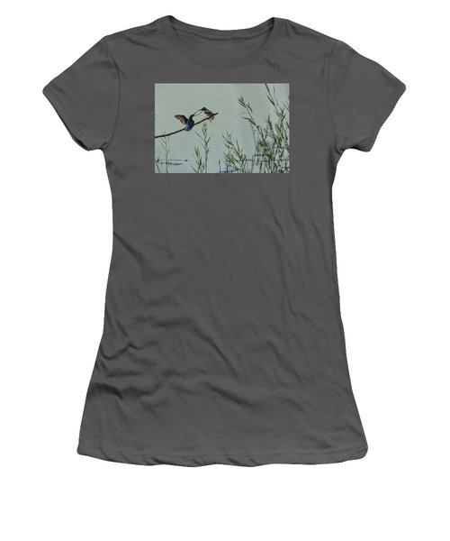 King Fishers  Women's T-Shirt (Athletic Fit)