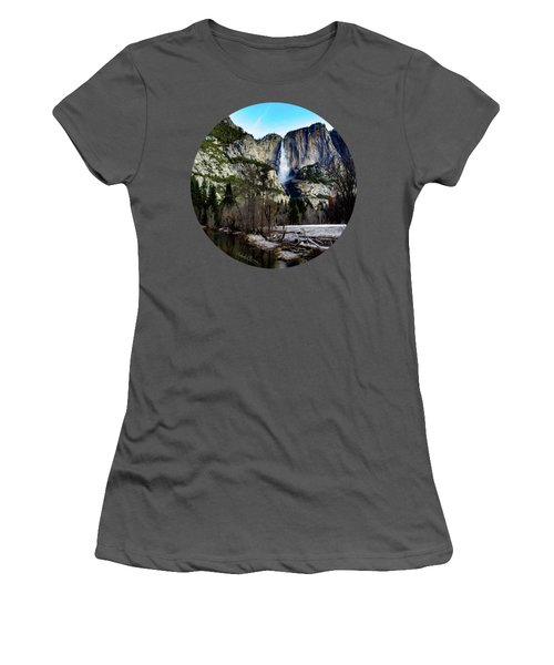 King Of Waterfalls Women's T-Shirt (Athletic Fit)
