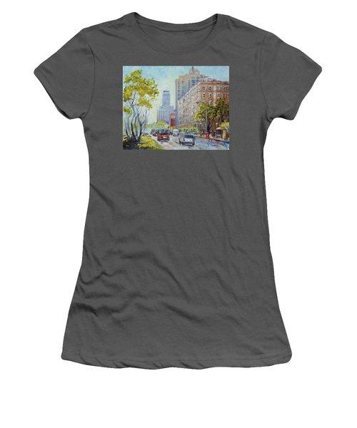 Kingshighway Blvd - Saint Louis Women's T-Shirt (Junior Cut) by Irek Szelag