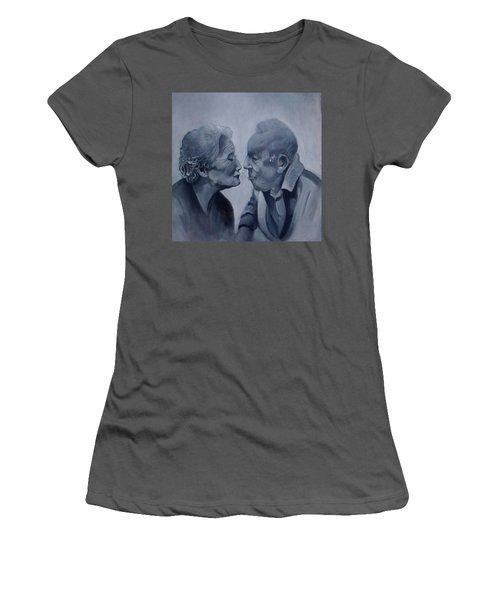 Kiss Women's T-Shirt (Athletic Fit)