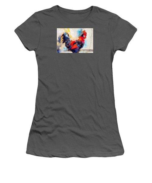 Klimt Cluck Women's T-Shirt (Athletic Fit)