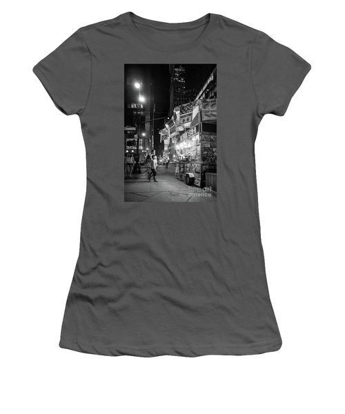 Knish, New York City  -17831-17832-bw Women's T-Shirt (Athletic Fit)