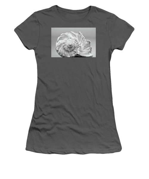Women's T-Shirt (Junior Cut) featuring the photograph Knobbed Whelk by Benanne Stiens