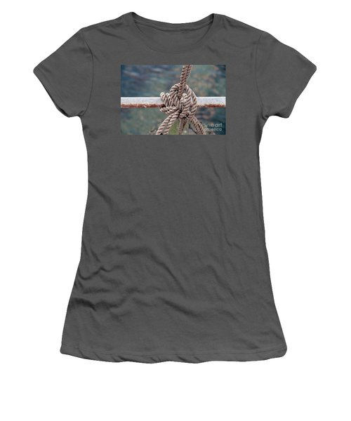 Knot Of My Warf Women's T-Shirt (Junior Cut) by Stephen Mitchell