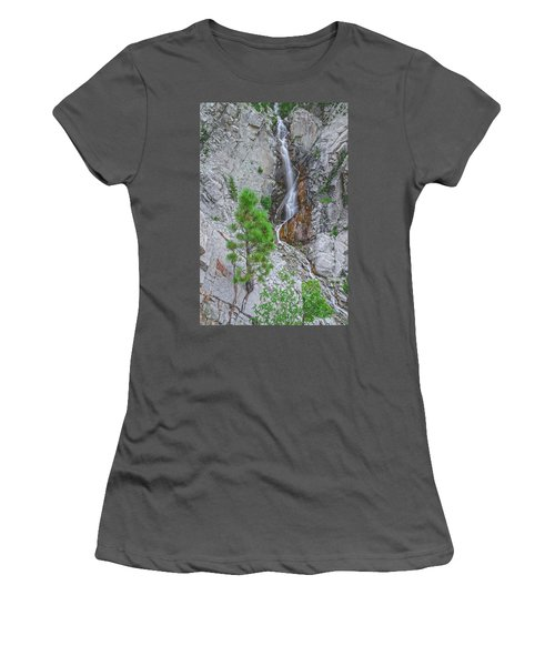 Knowledge Speaks, But Wisdom Listens.  Women's T-Shirt (Athletic Fit)