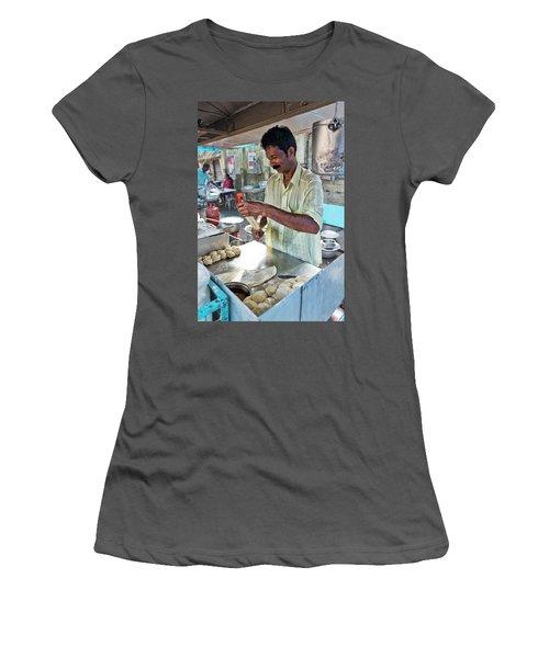 Kochi Stall Women's T-Shirt (Junior Cut) by Marion Galt