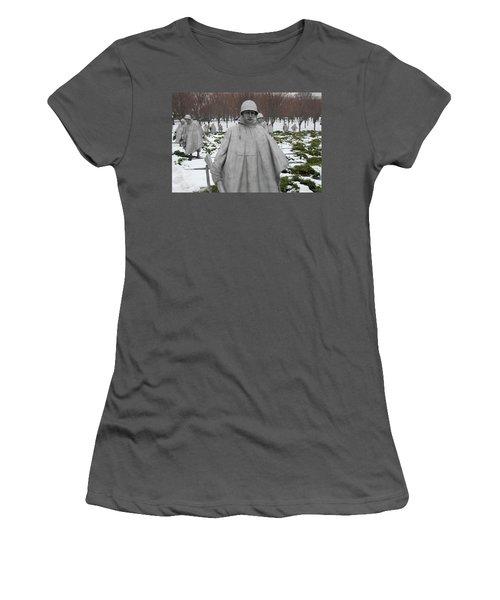 Korean War Memorial Women's T-Shirt (Athletic Fit)