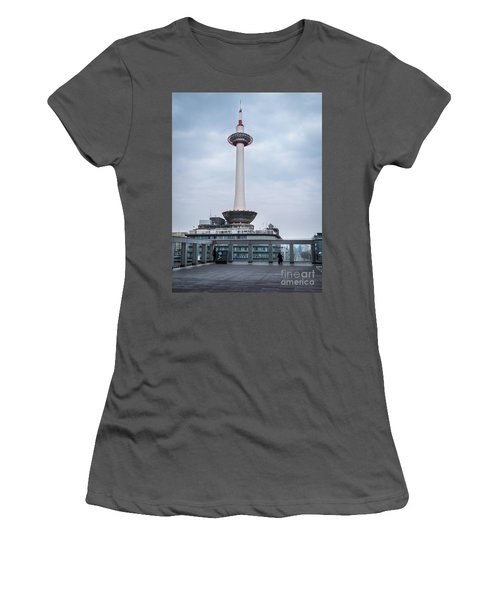 Kyoto Tower, Japan Women's T-Shirt (Athletic Fit)