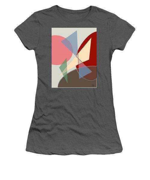 L Women's T-Shirt (Athletic Fit)