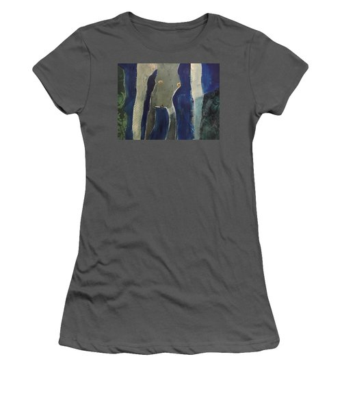 Lady Long Arms Women's T-Shirt (Athletic Fit)