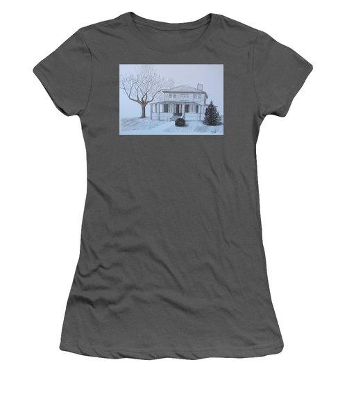Lady's 1950 Women's T-Shirt (Junior Cut) by Tony Clark