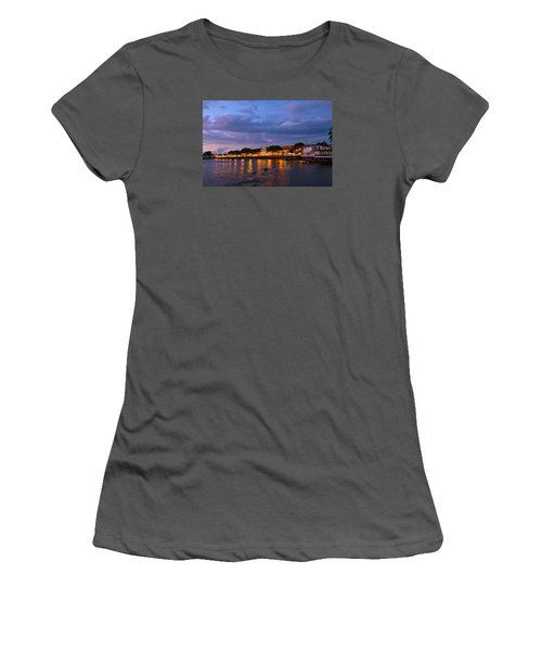 Lahaina Roadstead Women's T-Shirt (Junior Cut) by James Roemmling