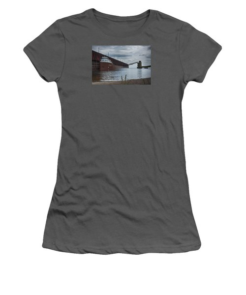 Lake Freighter Women's T-Shirt (Athletic Fit)