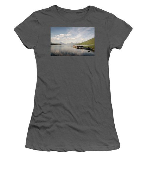 Lake Mcdonald Women's T-Shirt (Athletic Fit)