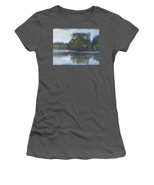 Lake Of The Isles Women's T-Shirt (Athletic Fit)