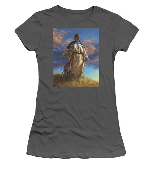 Lakota Woman Women's T-Shirt (Junior Cut)