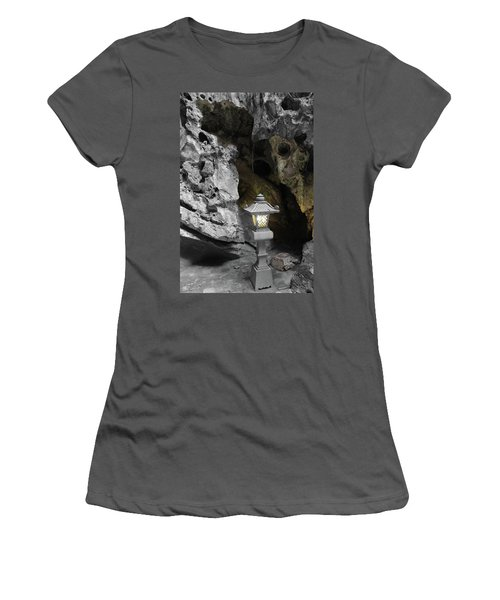 Lamp In Marble Mountain Women's T-Shirt (Athletic Fit)