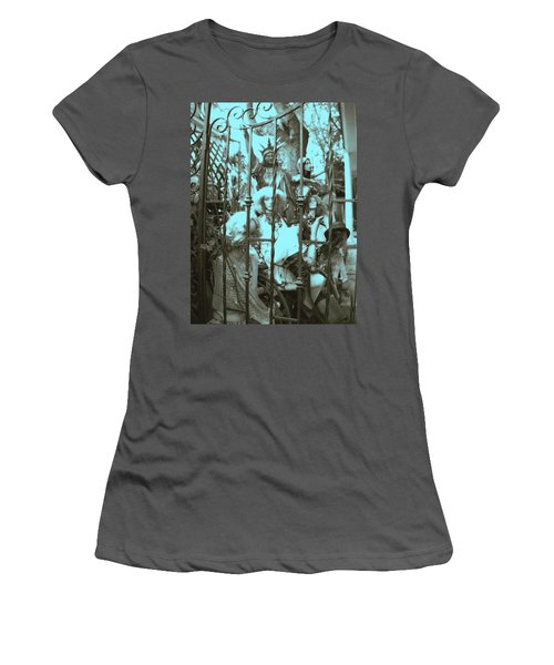 America Land Of The Free Women's T-Shirt (Junior Cut) by Susan Carella