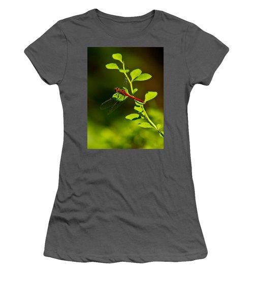 Landing Pad Women's T-Shirt (Athletic Fit)