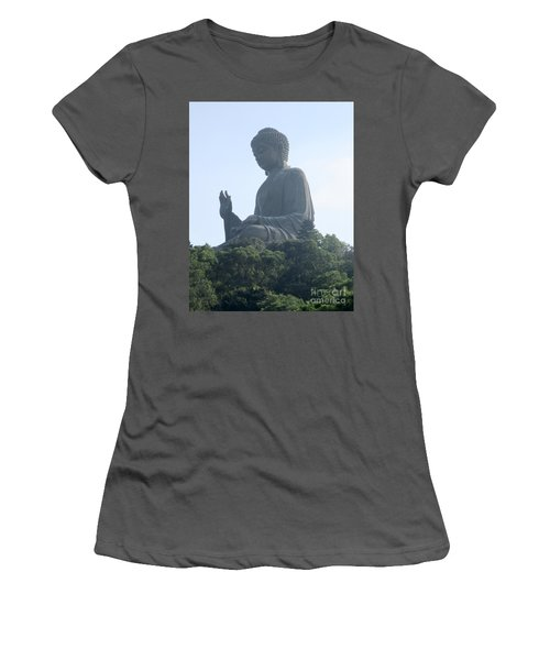 Women's T-Shirt (Junior Cut) featuring the photograph Lantau Island 50 by Randall Weidner