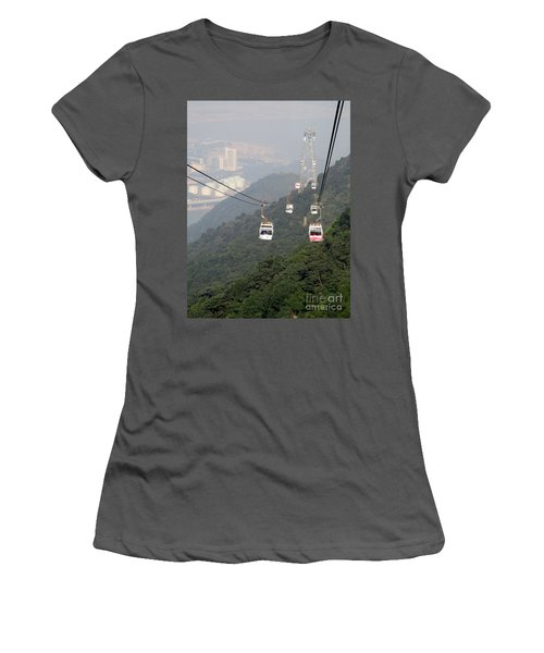 Women's T-Shirt (Junior Cut) featuring the photograph Lantau Island 53 by Randall Weidner