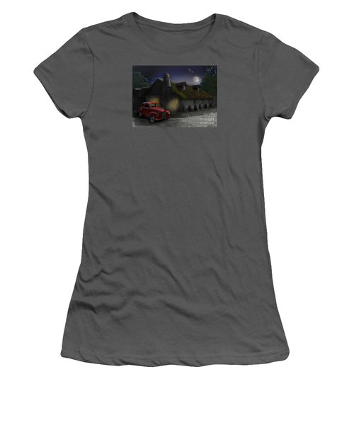 Last Call Women's T-Shirt (Athletic Fit)