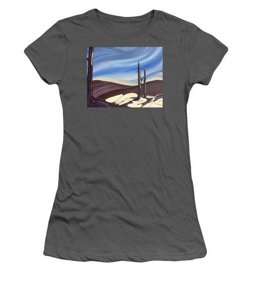 Last Snow Women's T-Shirt (Athletic Fit)