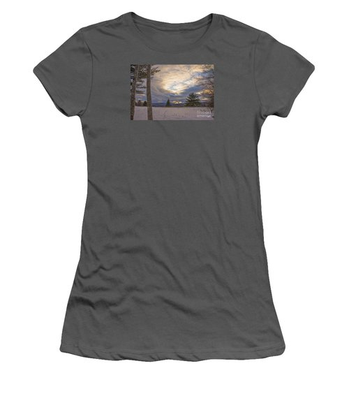 Last Sunset Of 2015 Women's T-Shirt (Athletic Fit)