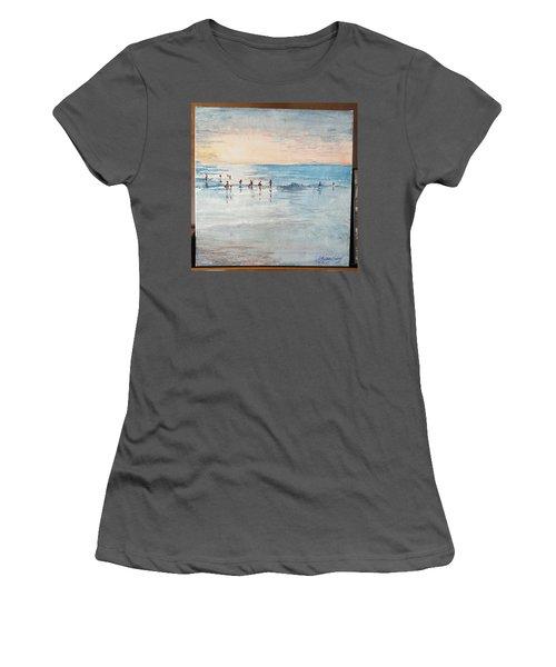 Last Swim Women's T-Shirt (Athletic Fit)