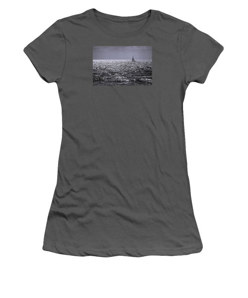 Late Afternoon Sailing Women's T-Shirt (Athletic Fit)