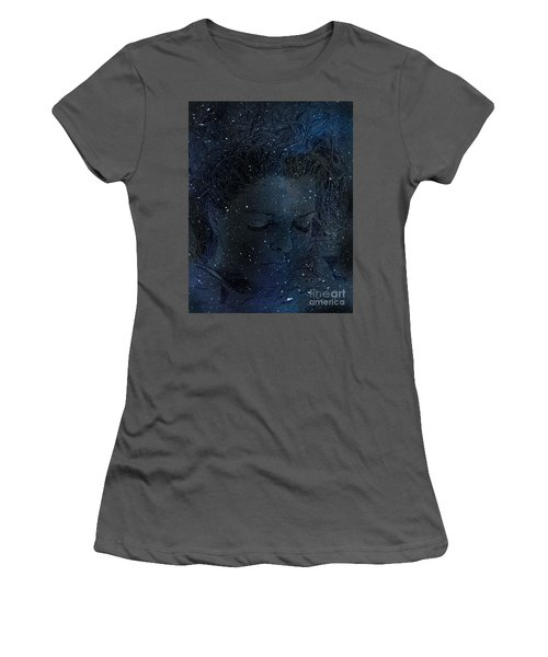 Eat At Judys Laura Palmer Carrie Page Nebula Women's T-Shirt (Athletic Fit)