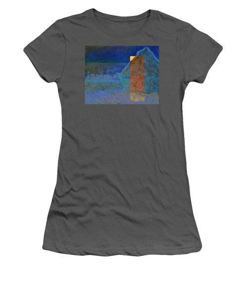 Layered 3 Monet Women's T-Shirt (Athletic Fit)