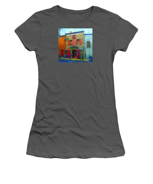 Le Lezard Restaurant Women's T-Shirt (Junior Cut) by Gerhardt Isringhaus