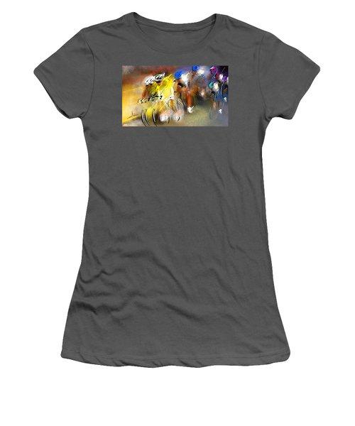Le Tour De France 05 Women's T-Shirt (Athletic Fit)