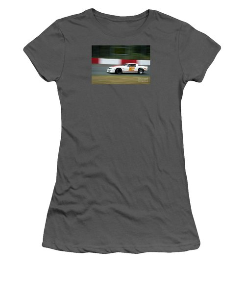 Leading The Pack In The Turn Women's T-Shirt (Athletic Fit)