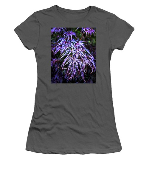 Leaves In The Light Women's T-Shirt (Athletic Fit)