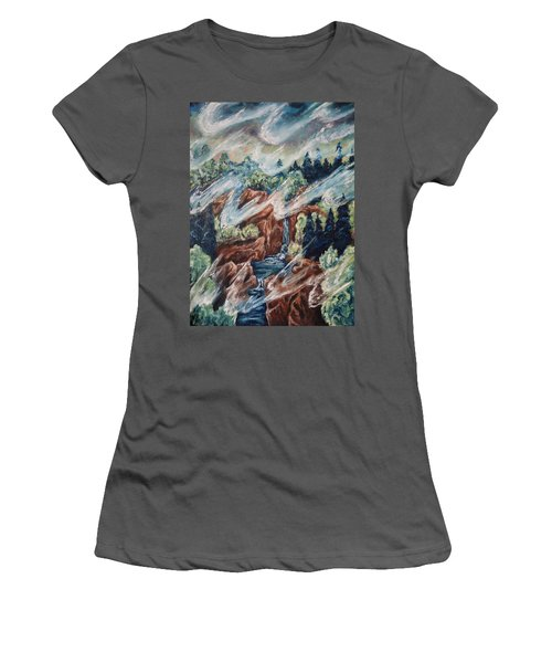 Leaving Eden Women's T-Shirt (Junior Cut) by Cheryl Pettigrew