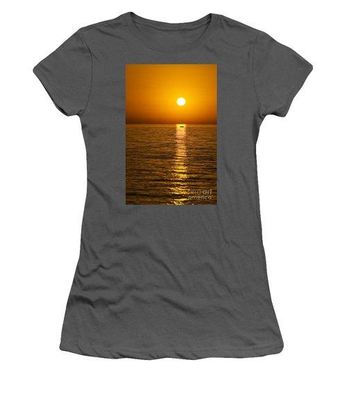 Lesvos Sunset Women's T-Shirt (Athletic Fit)