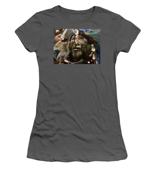 Let Go The Anchor Women's T-Shirt (Junior Cut) by Kicking Bear Productions