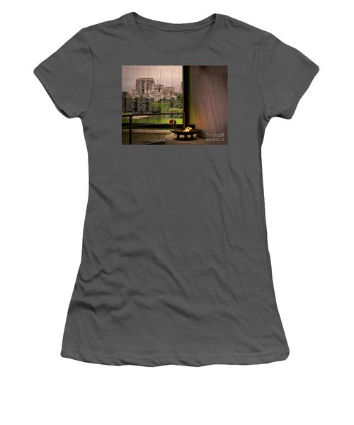Women's T-Shirt (Junior Cut) featuring the photograph Let The Flame Never Die by Melissa Messick