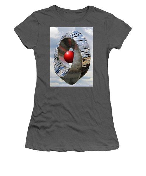Women's T-Shirt (Junior Cut) featuring the photograph Levitation Hybrid by Christopher McKenzie
