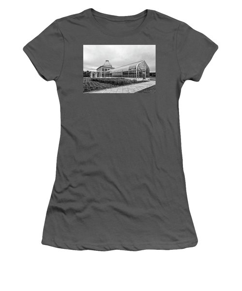 Women's T-Shirt (Athletic Fit) featuring the photograph Lewis Ginter Greenhouse by Alan Raasch