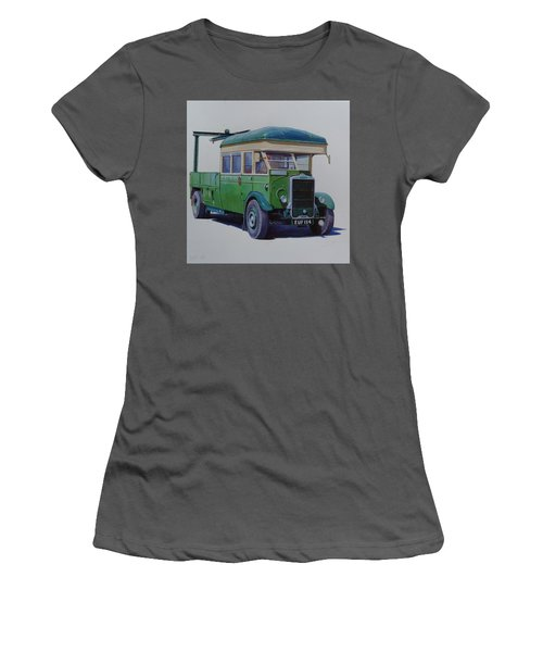 Leyland Southdown Wrecker. Women's T-Shirt (Junior Cut) by Mike Jeffries