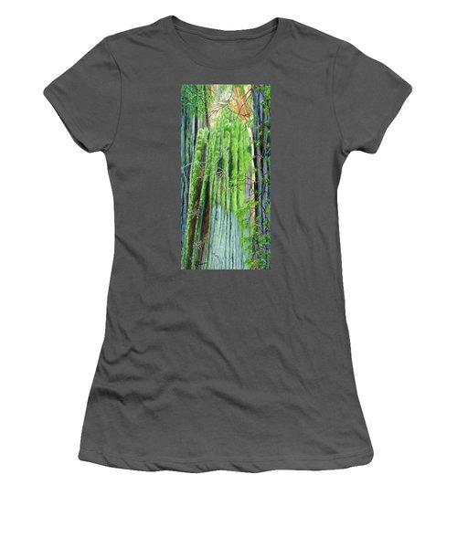 Life In A Redwood Forest Women's T-Shirt (Athletic Fit)