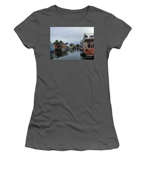 Life On The Water Women's T-Shirt (Junior Cut) by Cindy Croal